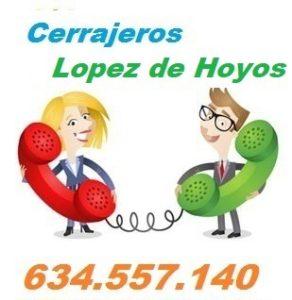 Telefono de la empresa cerrajeros Lopez de Hoyos
